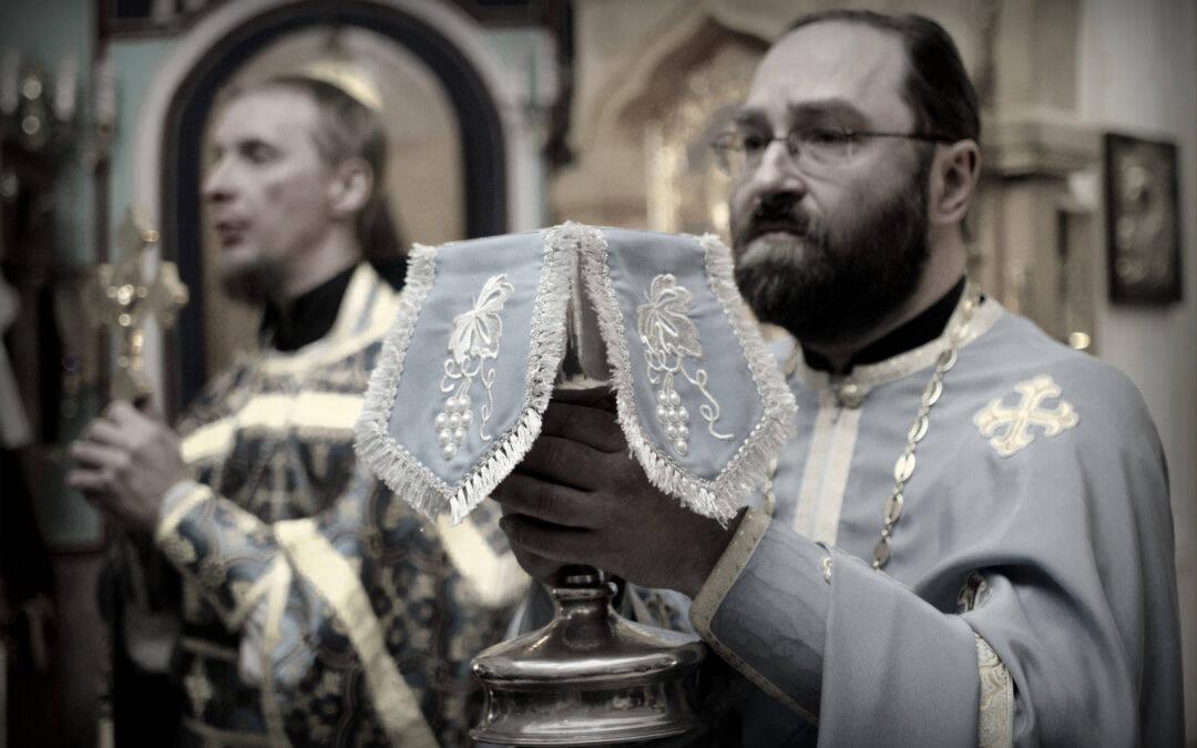 Благовещение Пресвятой Богородицы молитвенно встретили на петербургском подворье Коневского монастыря