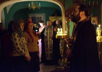 Чин прощения совершен на петербургском подворье Коневской обители накануне Святой Четыредесятницы