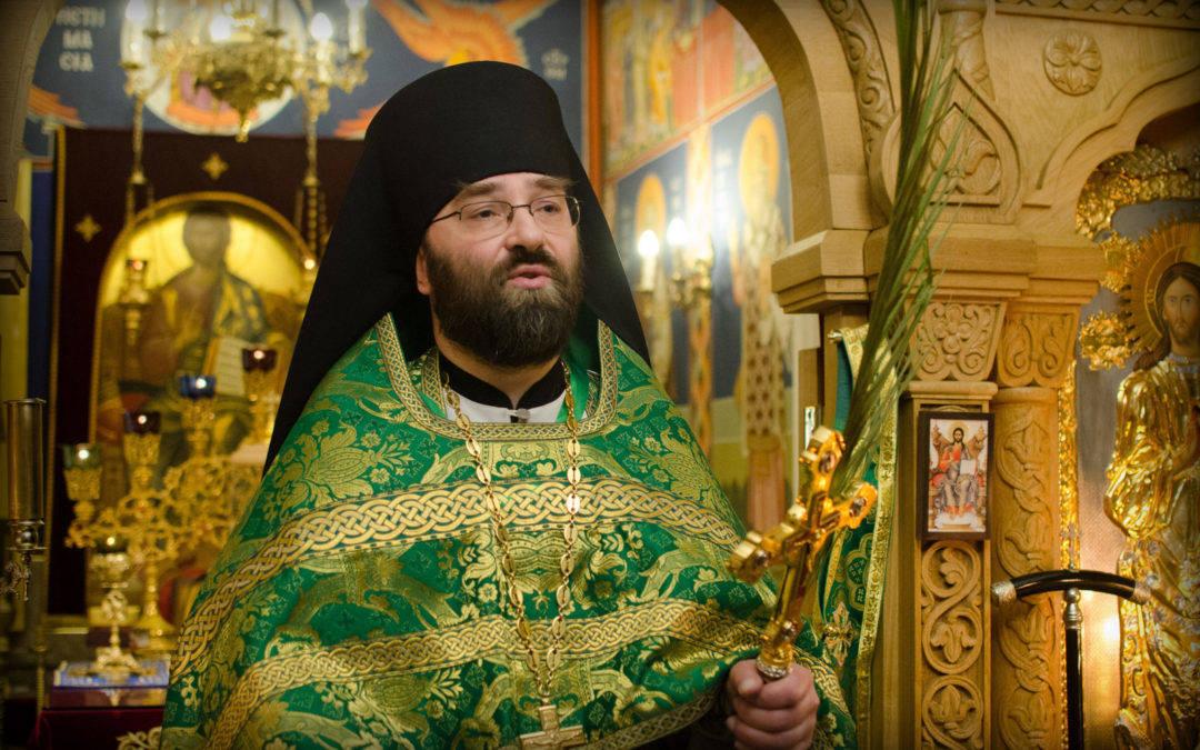 Слово настоятеля подворья на праздник Входа Господня во Иерусалим