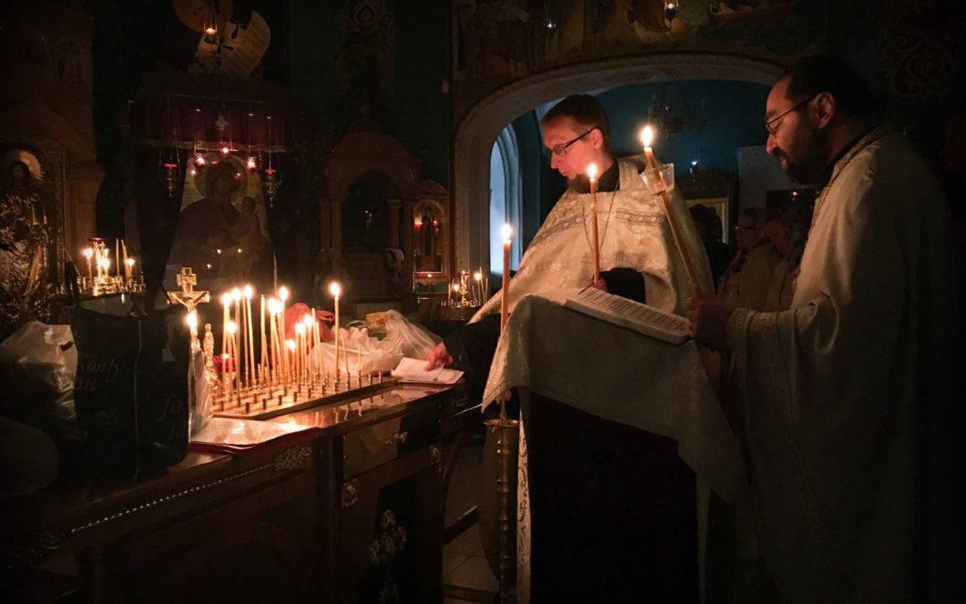 Троицкую родительскую субботу молитвенно встретили на петербургском подворье Коневской обители