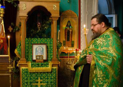День памяти Прп. Арсения Коневского на подворье Коневского монастыря