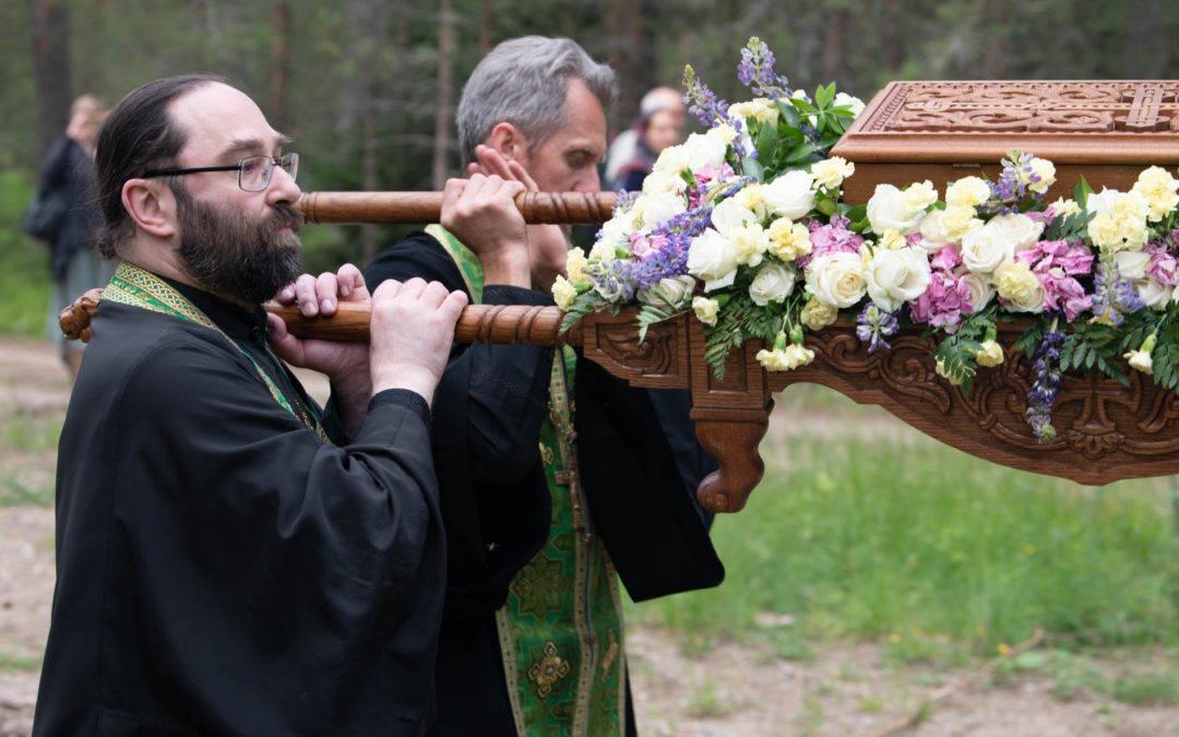 Торжества в день памяти Прп. Арсения Коневского в островной обители