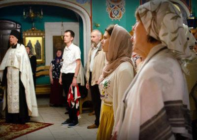 В праздник Вознесения Господня на петербургском подворье Коневского монастыря совершены праздничные богослужения.