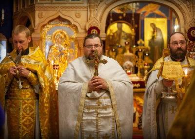 В день святых славных и всехвальных апостолов Петра и Павла на петербургском подворье Коневской обители совершены торжественные богослужения