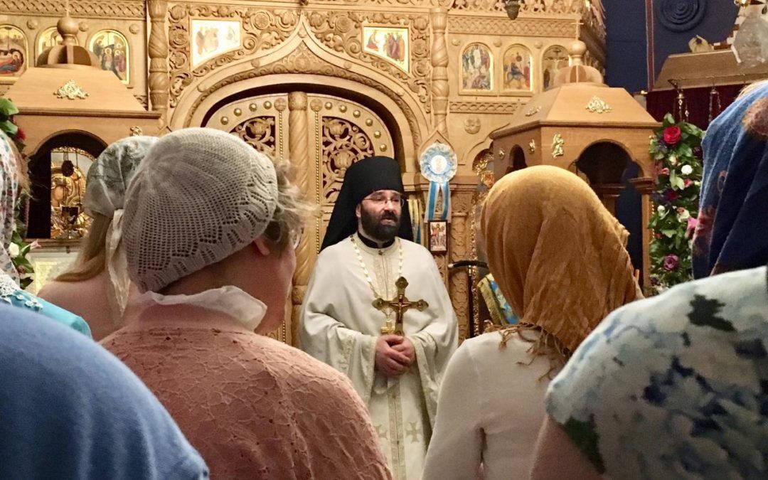 Молебен перед началом учебного года совершен на подворье после Литургии в Неделю 11-ю по Пятидесятнице