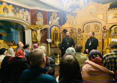 В рамках цикла «Встречи на Коневском» на петербургском подворье монастыря состоялась лекция о духовном пути Н.С.Лескова