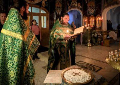 День памяти святого благоверного князя Александра Невского встретили на петербургском подворье Коневской обители