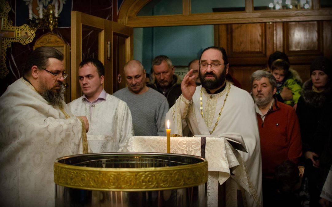 Праздник Крещения Господня встретили на  петербургском подворье Коневской обители