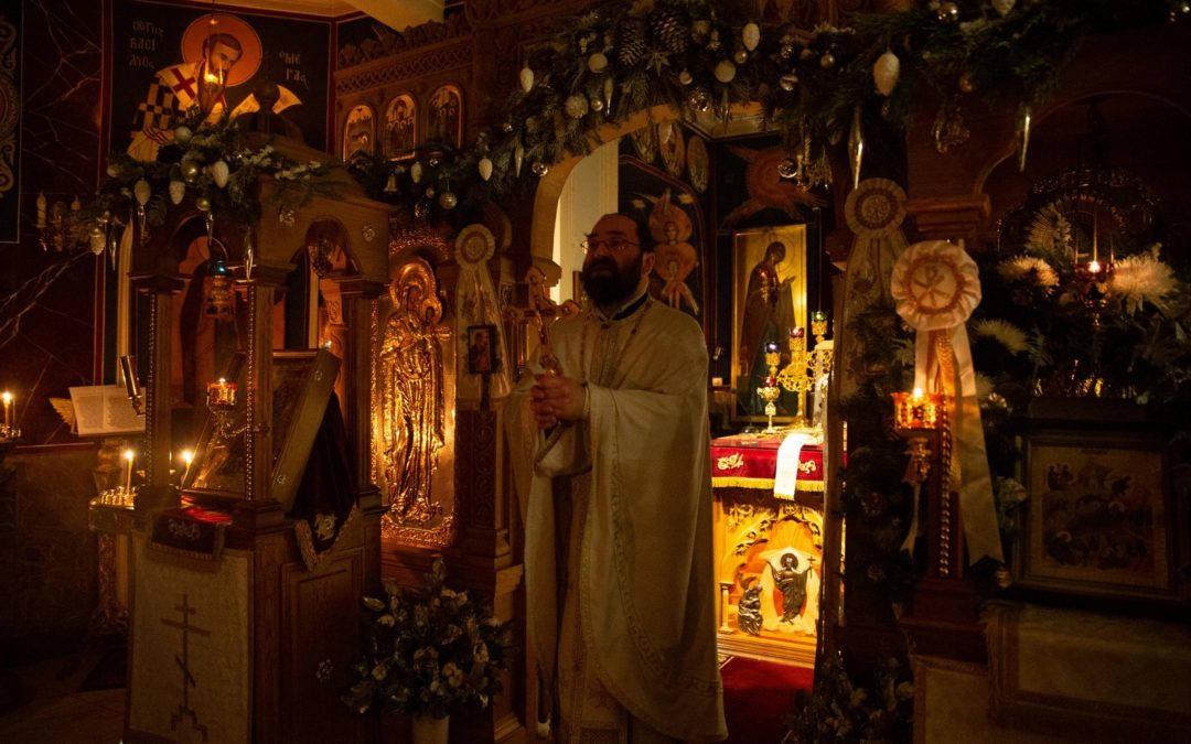 Слово настоятеля на праздник Рождества Христова