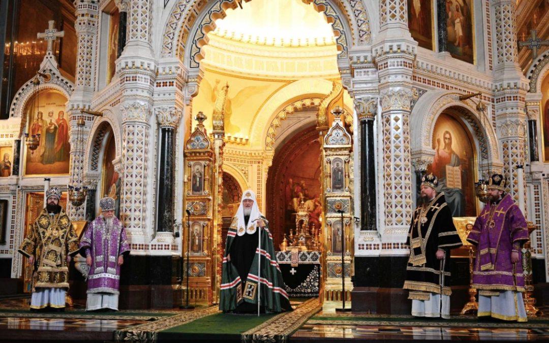 Святейший Патриарх Кирилл призвал верующих молиться дома, следуя подвигу Марии Египетской