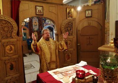 В праздник Радоницы епископ Выборгский и Приозерский Игнатий совершил Божественную литургию на петербургском подворье Коневского монастыря