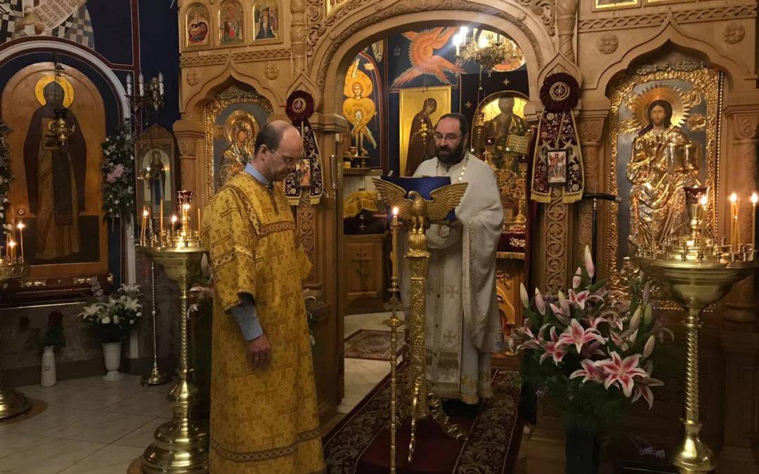 Пастырское слово в день Собора Санкт-Петербургских святых