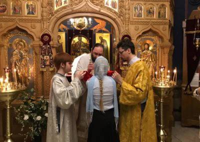 В день святых первоверховных апостолов Петра и Павла на петербургском подворье Коневской обители совершены торжественные богослужения