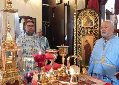 Настоятель Коневского подворья принял участие в торжествах престольного праздника кафедрального Рождество-Богородичного собора г.Приозерска