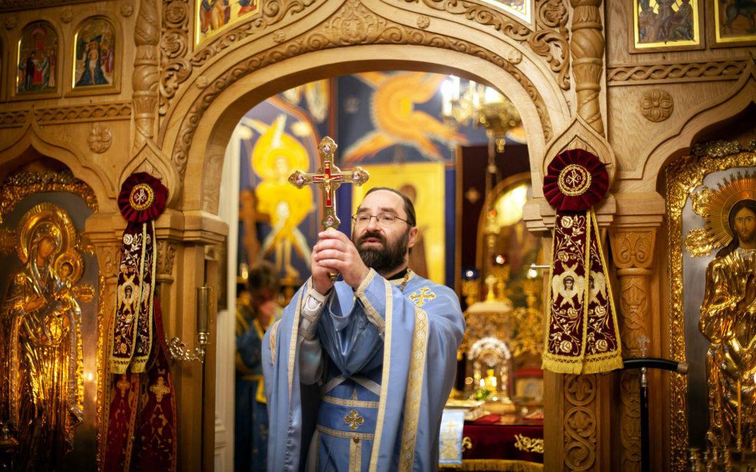 Праздник Покрова Пресвятой Богородицы встретили на петербургском подворье Коневского Рождество-Богородичного монастыря