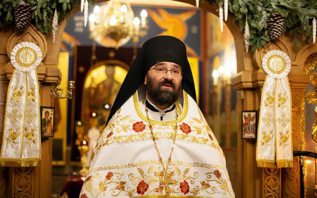Проповедь настоятеля на праздник Рождества Христова 2021