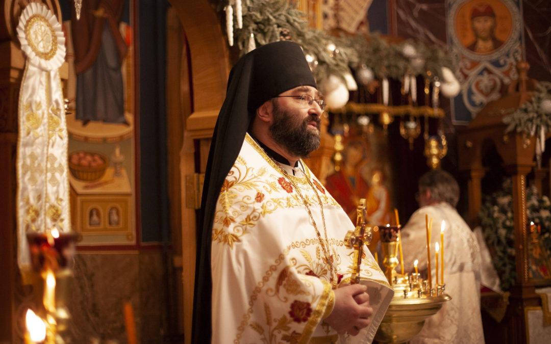 Проповедь настоятеля на праздник Богоявления