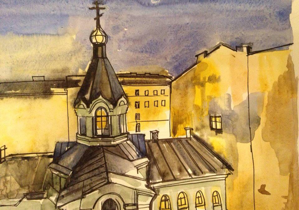 В формате онлайн открылась Святочная выставка художественных работ прихожан подворья. Смотрите фотогалерею