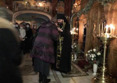 На петербургском подворье Коневского Рождество-Богородичного монастыря совершен Чин прощения