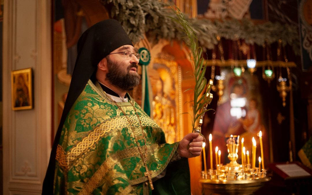 Проповедь настоятеля подворья на праздник Входа Господня в Иерусалим
