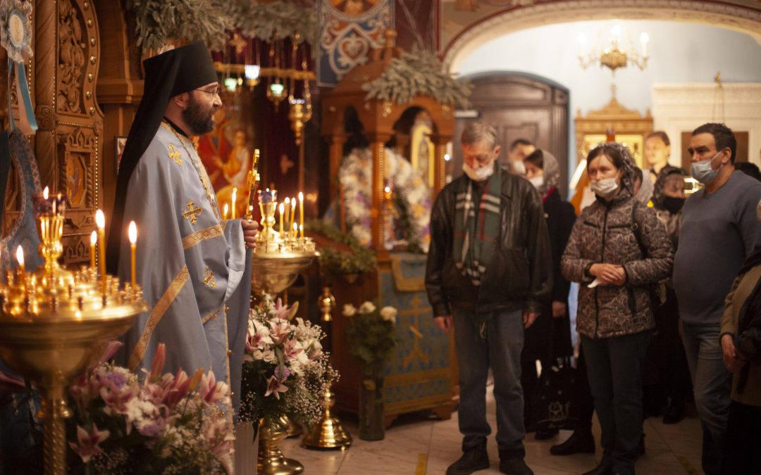 Проповедь настоятеля в день Благовещения Пресвятой Богородицы