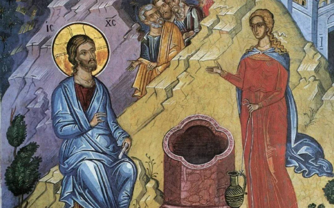 Богослужения Недели о самаряныне совершены  на петербургском подворье Коневского монастыря
