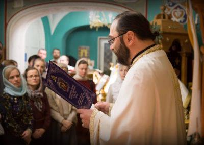 На петербургском подворье Коневского монастыря молитвенно встретили праздник Рождества Христа Спасителя