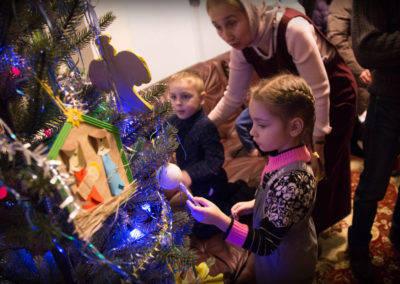 На петербургском подворье Коневского монастыря в честь Рождества Христова открылась выставка художественных работ