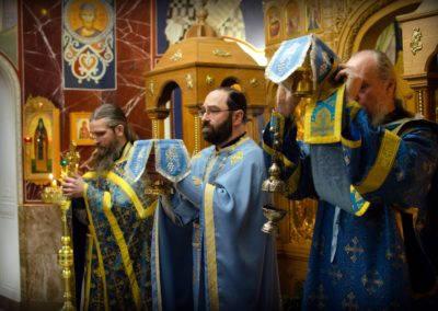 Праздник памяти Казанской иконы Божией Матери встретили на петербургском подворье Коневского Рождество-Богородичного монастыря