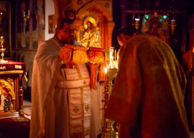 День памяти святой блаженной Ксении Петербургской молитвенно встретили на петербургском подворье Коневской обители.