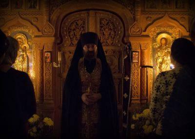 Традиционный чин прощения совершен на петербургском подворье Коневской обители накануне Великого поста