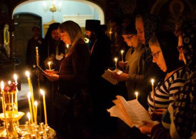 Чтение Великого канона Андрея Критского начато на петербургском подворье Коневского монастыря