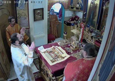 В Неделю о самаряныне на петербургском подворье Коневского Рождество-Богородичного монастыря совершены праздничные богослужения.
