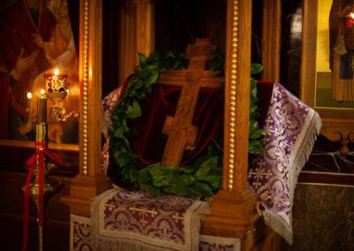 Праздник Крестовоздвижения молитвенно встретили на петербургском подворье Коневского Рождество-Богородичного монастыря