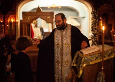 На петербургском подворье Коневской обители совершен молебен об учащих и учащихся