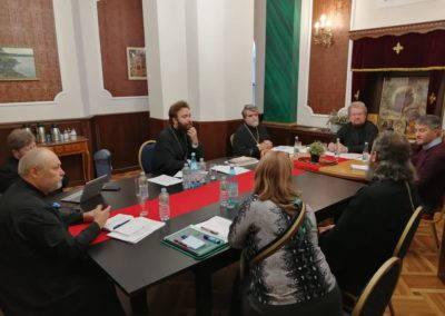 Состоялось заседание Епархиального совета и совещание относительно категоризации храмов с целью их антитеррористической защищенности