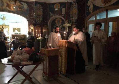 Димитриевскую родительскую субботу молитвенно встретили на петербургском подворье Коневского монастыря