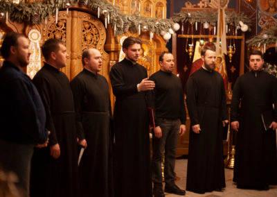 Святочный концерт Хора епархиального духовенства состоялся на петербургском подворье Коневской обители