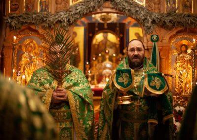 На подворье совершены богослужения праздника Входа Господня в Иерусалим