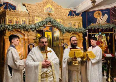 Неделю преподобного Иоанна Лествичника молитвенно встретили на петербургском подворье Коневского монастыря