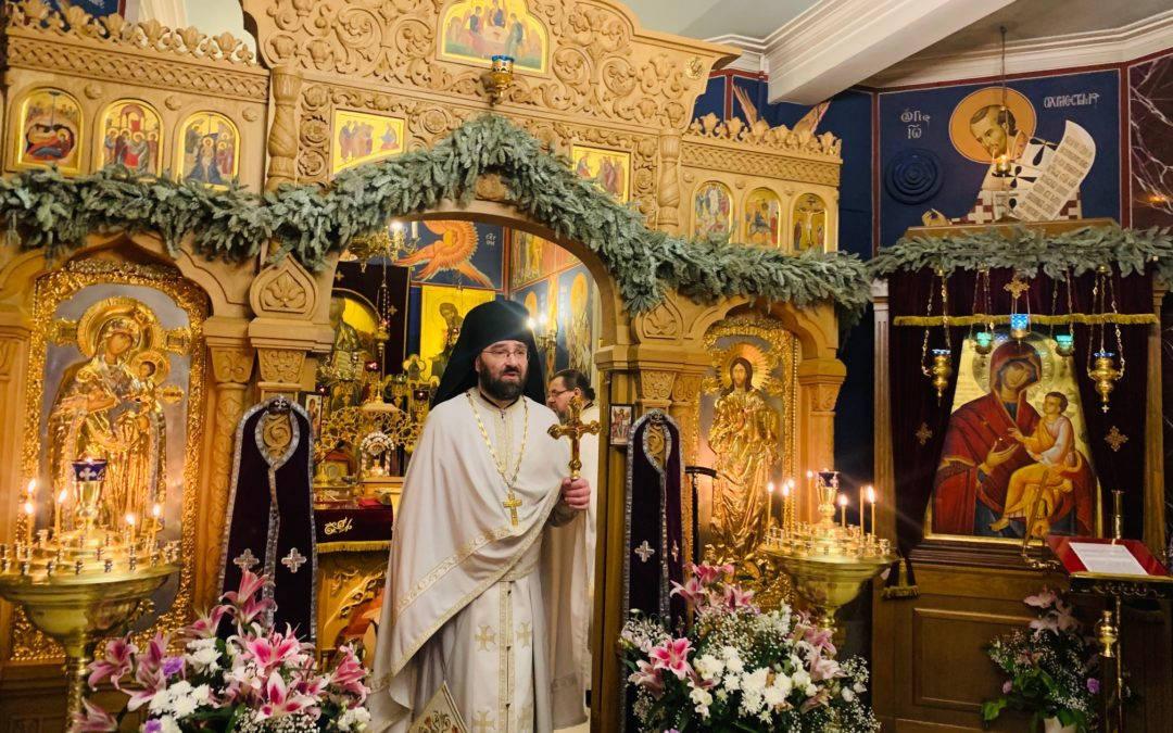 Проповедь настоятеля в неделю преподобного Иоанна Лествичника