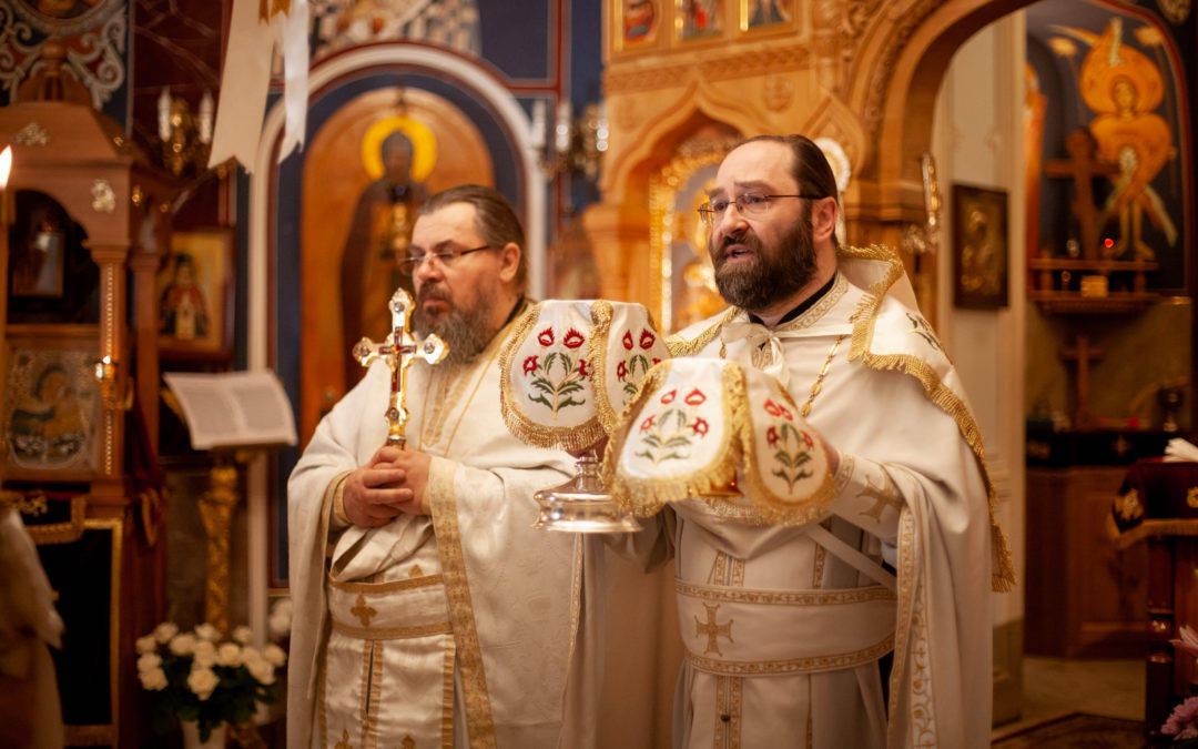 Праздник Вознесения Господня молитвенно встретили на петербургском подворье Коневского монастыря