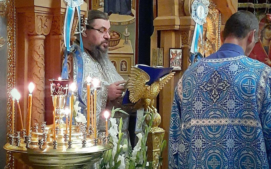 Рождество Пресвятой Богородицы — престольный праздник Коневского монастыря — молитвенно встретили на петербургском подворье обители